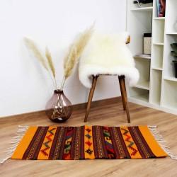 Teppich Vintage Santa Cruz aus Wolle und Naturfarben