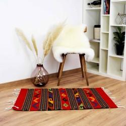 Teppich Vintage Teotitlan aus Wolle und Naturfarben