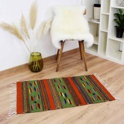 Teppich Vintage Mezcal aus Wolle und Naturfarben
