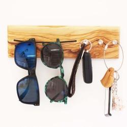 2 in 1 Sonnenbrillen-Aufhänger & Schlüsselbrett rund