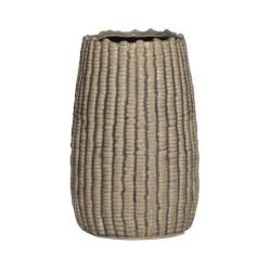 Blumentopf blue Stripe Vase