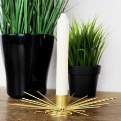 Kerzenhalter aus Metall Sonne