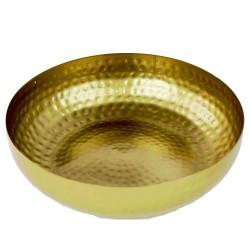 Schaal gold 22cm