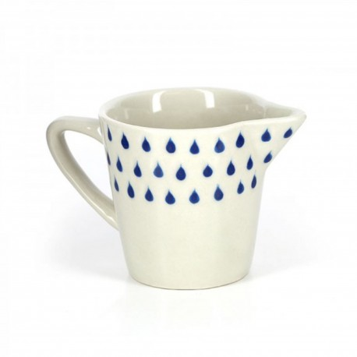 Milchkännchen Drops aus Keramik