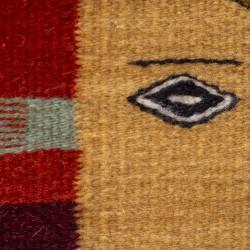 Teppich Pesces Ocre aus Naturfarben