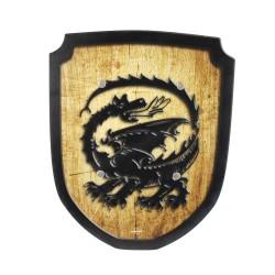 Wappenschild Drache Holzspielzeug