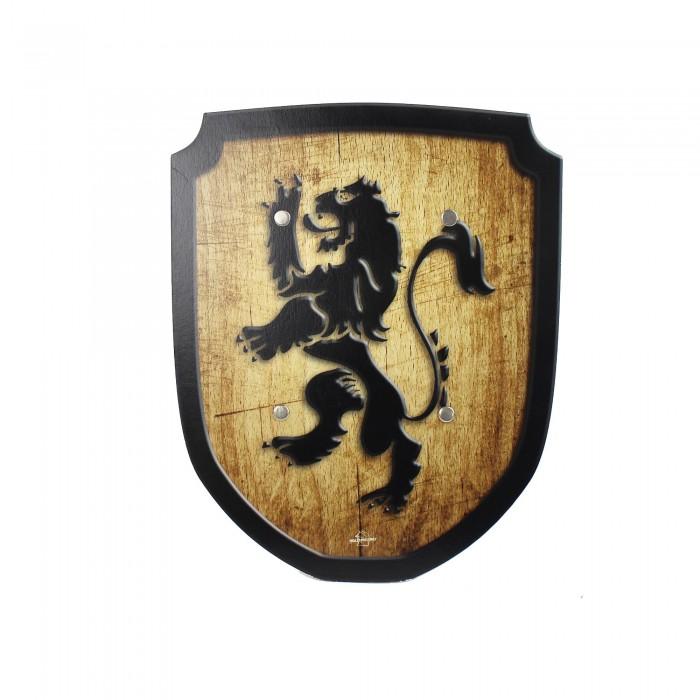 Wappenschild Löwe, Holzspielzeug