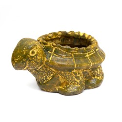 Blumentopf aus Ton Schildkröte aus Mexiko