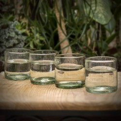 Gläser 4er Set grün Peke