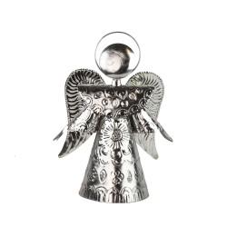 Engel silber 25cm , Schutzengel