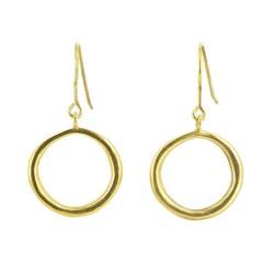 Ohrhänger Magena gold, 925er Silber vergoldet