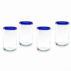 Gläser 4er Set | Mundgeblasenes Glas
