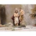 Krippenfiguren Taufe Jesu 9 cm