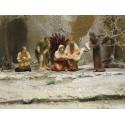 Krippenfiguren Die Beschneidung Jesu 9 cm