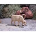 Krippentiere Schaf äsend 3,5 cm