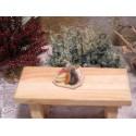 Wurstplatte aus Holz und Fimo 2cm