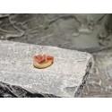 Krippenzubehör Teller mit Schinkenspeck 1 cm