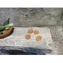 Krippenzubehör 4 Brote 0,7 cm