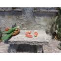 Krippenzubehör 3 Schinken 1,5 cm