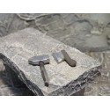 Hammer und Axt 2,5 cm