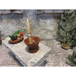 Pott mit Holzleim