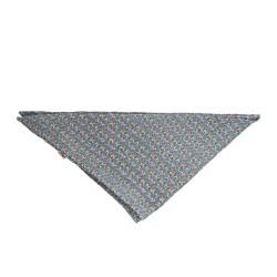 Dreieckstuch grau - Musselin
