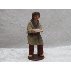 Bettler mit Teller 13 cm