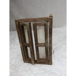 Tür doppelflügig mit Rahmen