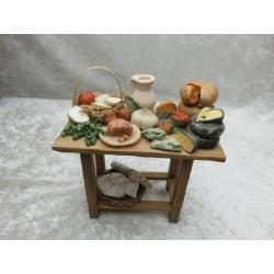 Tisch mit Käse,25er