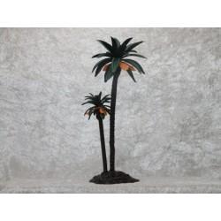 Palme 18 cm mit zwei Stämmen