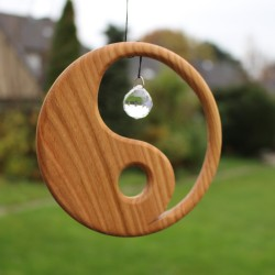 Fensterdeko Yin Yang 13 cm