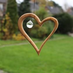 Fensterdeko Herz 12,5 cm